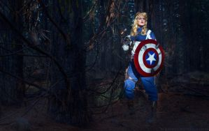 Captain America: Not a Chorus Girl. by The-Meeg