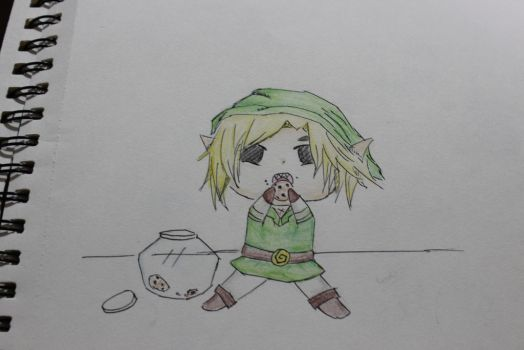 Link and cookies by CoolLIKEumee