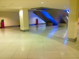 Alone at the mall by KStwins4ever