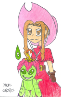 Mimi and Palmon by Nicktoons4ever