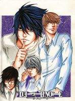 death note cast by flo-moshi