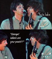 Silly George... by EvelKinevelable