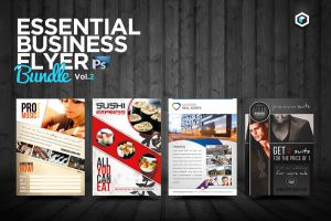 RW Essential Business Flyers Vol 2 by Reclameworks