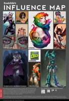 Influence Map by Evulchibi