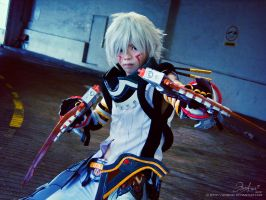 .Hack GU - Haseo Guns Blazing by Adellexe