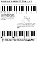 BASIC CHORDING FOR PIANO by CaseyDN