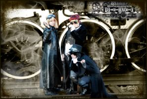 Death Note Steam Punk: Wammy by Maru-Light