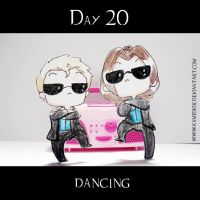30 day OTP Challenge Feat. Winchesters: Day 20 by KamiDiox