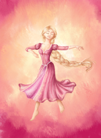 Rapunzel : Kingdom Dance by Midnight-63