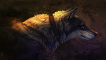 Commission: wolf by Brevis--art