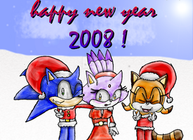 2008 Here we come x3 by Joellinathedog