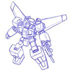 Sketch: transforming mecha by Darcad