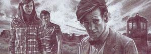 Doctor Who - Pencil Study by JeffLafferty