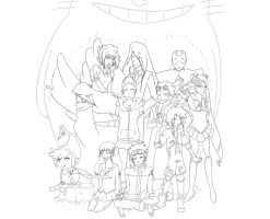 Welcome To My Inspiration WIP by fruits-basket-head
