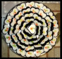 California Heart-Shaped Sushi by Ziralma