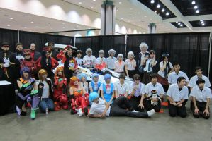 Evangelion Gathering at Anime Expo 2013 by R-Legend