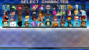 Super Indie Fighter - My Roster by DENDEROTTO