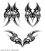 Tribal Tattoo 13 - AngerRising by amir-malka