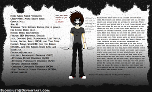 .:Creepypasta:. Silent Siren Reference Sheet by C0I0R