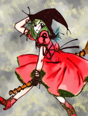Witch Pic   colored   by ChibaPanChibi - Cad�lar i�in ...