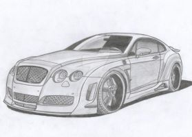 Bentley Continental GT Premier 4509 Limited by Arek-OGF