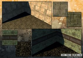 Seamless Texture Samples by JonRichardson