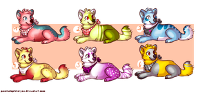 Puppy Adopts [OPEN] 5 points each by BlooAdopts