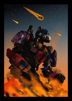 Optimus Prime by skam4