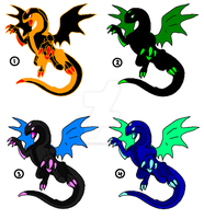 1 Point Adopts- Dragonoids 4 -closed- by ProudRyukin13
