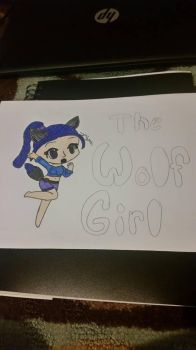 The Wolf Girl  by goofysonic