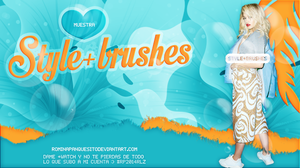 Style+brushes | pack #resources400watchers by Rominapanquesito2