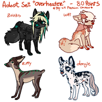 Adoptable Set 'Overheater' by boniest