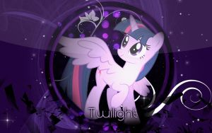 Twilight Sparkle Wallpaper by Cr4zyPPL