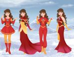 Ironman Frozen Dresses by aminelovercantdraw