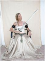 Sword lady 2 by Lisajen-stock