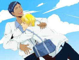Summer Days - AoKise by ShiroNiji