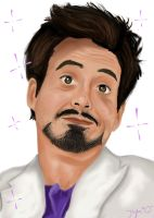 Robert Downey, Jr. by tSTARylor