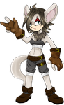Baton the Fennec Fox (FINISHED) by Ootsutsuki