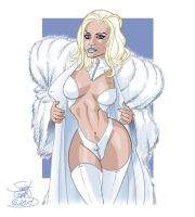 Emma Frost by ScottCohn