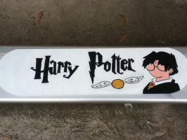 Harry Potter Skateboard by Bureku98
