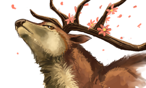 Majestic During Cherry Blossom by Canvascope