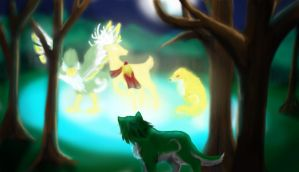 Beasts of Legend by MephilesTheCute09