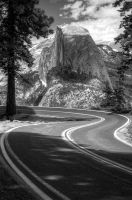 Road to Half Dome by tahoe-sushi
