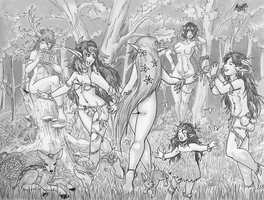 Frolicking Elfs by Shabazik