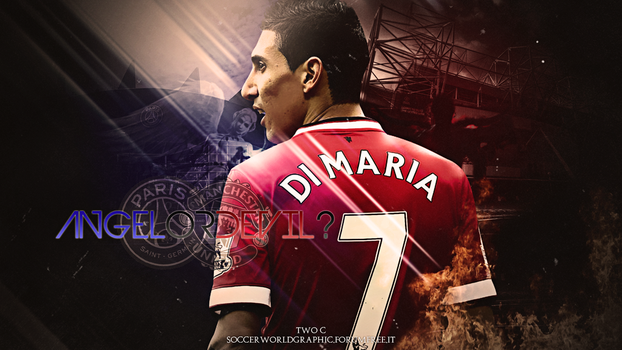 WALLPAPER - Angel (or Devil?) Di Maria by Two-C