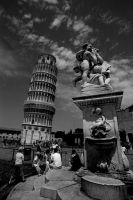 leaning tower by carlofunebre
