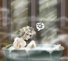 link in the bath by Zita52