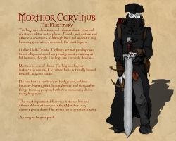 Dungeons and Dragons: Morthor by Hellwolve