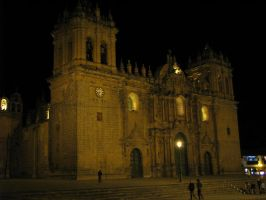 That Same Cathedral at Night by Father-Alexander