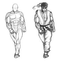 ryu sketch by guugoo